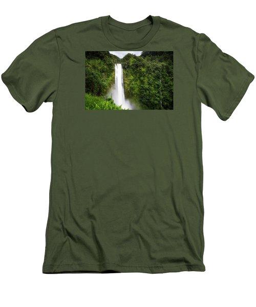Akaka Falls Men's T-Shirt (Athletic Fit)