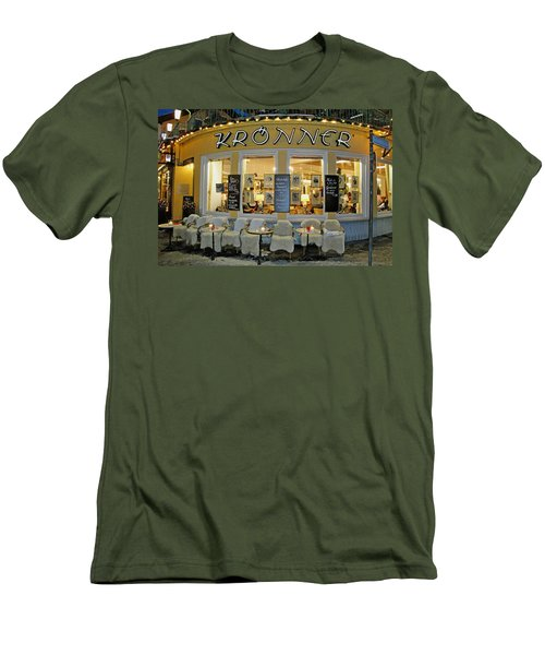 Al Fresco Dining Bavarian Style Men's T-Shirt (Athletic Fit)
