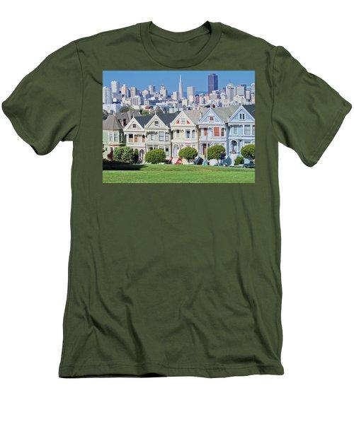 Alamo Square Men's T-Shirt (Athletic Fit)