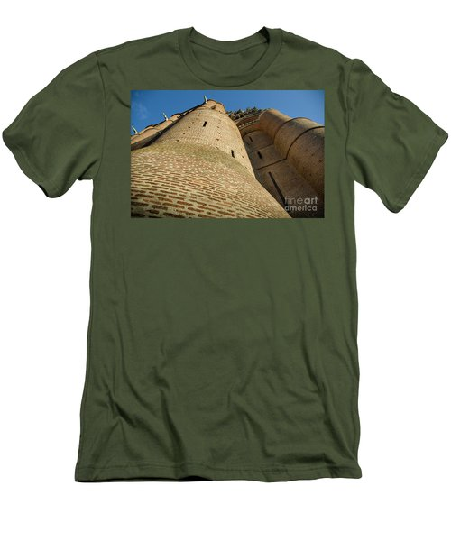 Albi Cathedral Low Angle Men's T-Shirt (Slim Fit) by RicardMN Photography