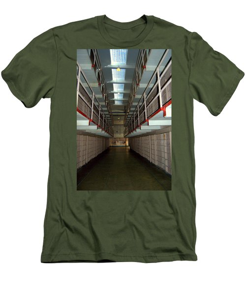 Alcatraz Revisited Men's T-Shirt (Athletic Fit)