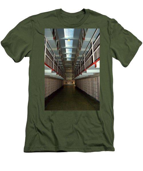 Alcatraz Revisited Men's T-Shirt (Athletic Fit)