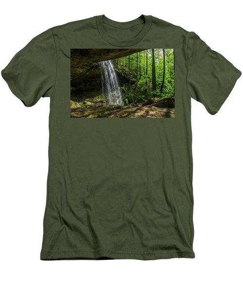 Alcorn Falls Men's T-Shirt (Athletic Fit)