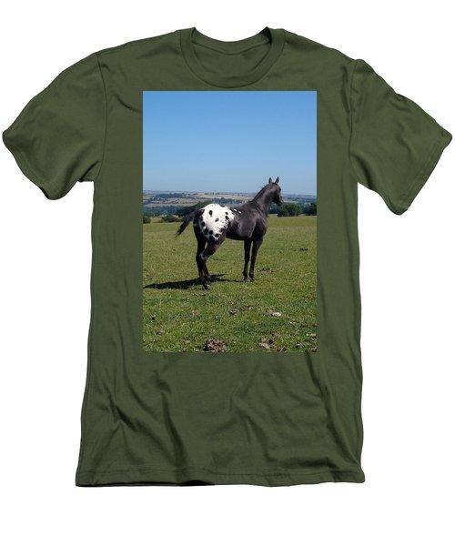 All He Surveys Men's T-Shirt (Athletic Fit)