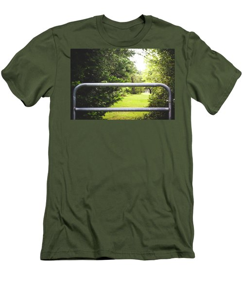 Men's T-Shirt (Slim Fit) featuring the photograph All Things Green by Shelby Young