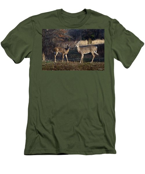 Almost Spring Men's T-Shirt (Slim Fit) by Bill Stephens