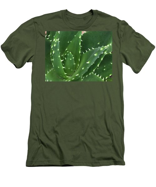 Aloe-icious Men's T-Shirt (Slim Fit) by Russell Keating