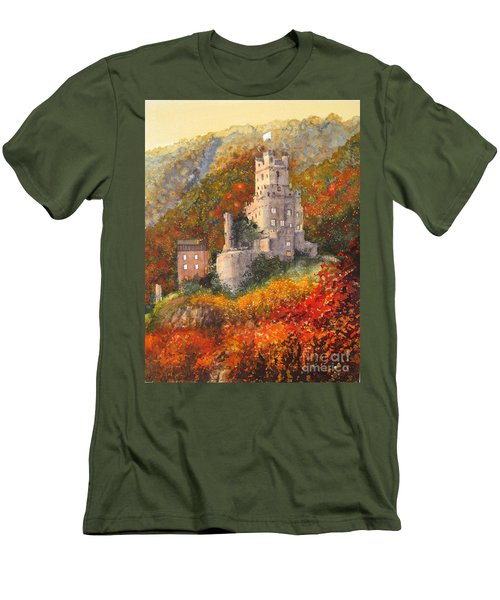 Along The Rhine I Men's T-Shirt (Athletic Fit)