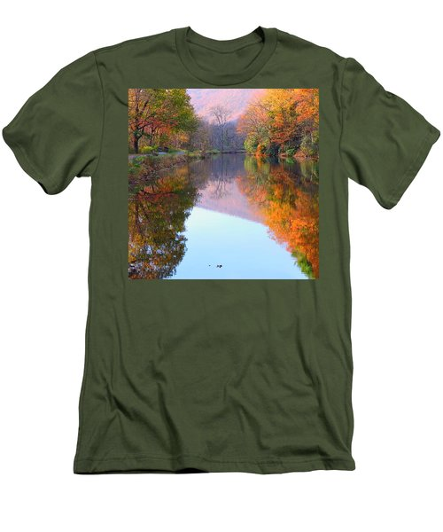 Along These Autumn Days Men's T-Shirt (Athletic Fit)
