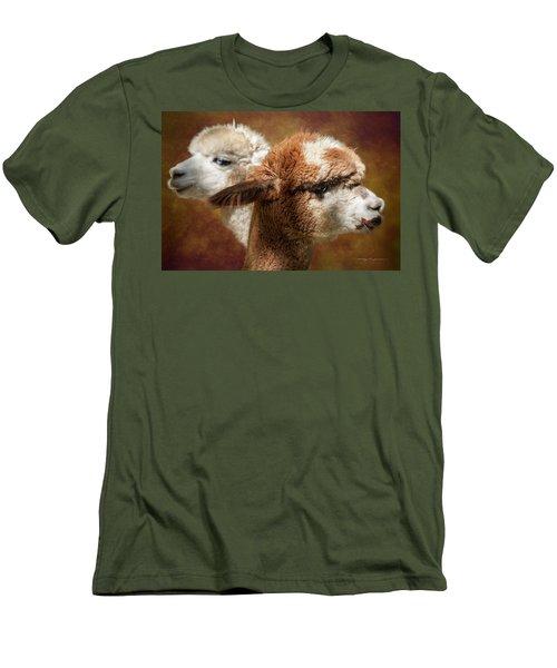 Alpacas #1 Men's T-Shirt (Athletic Fit)