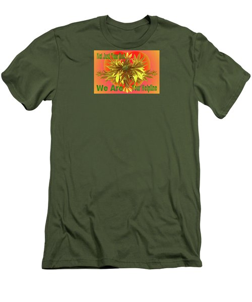 Alternative Medicine Men's T-Shirt (Slim Fit) by Mike Breau
