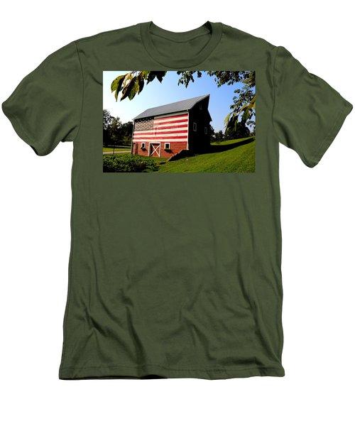 Americana 1 Desoto Kansas Men's T-Shirt (Athletic Fit)