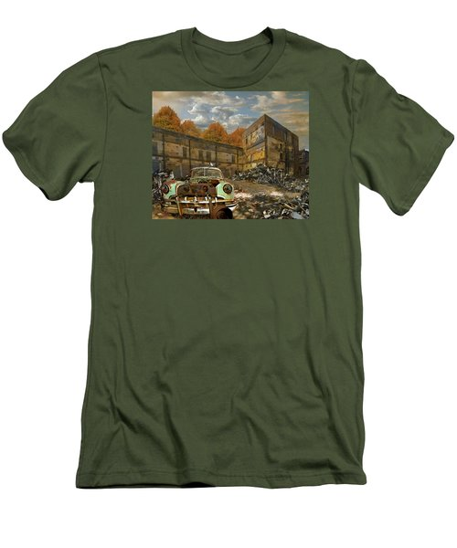 American Landscape Circa 2012 Men's T-Shirt (Slim Fit)