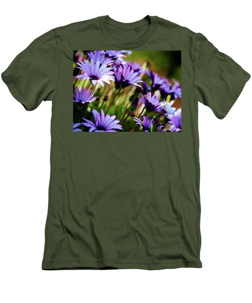 Among The Flowers Men's T-Shirt (Athletic Fit)