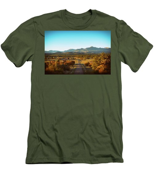 An Autumn Evening In Pagosa Meadows Men's T-Shirt (Athletic Fit)