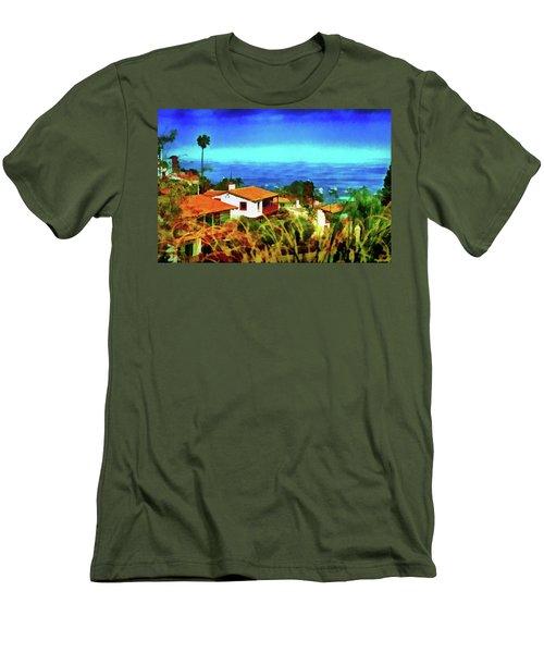 An Ocean View Men's T-Shirt (Athletic Fit)