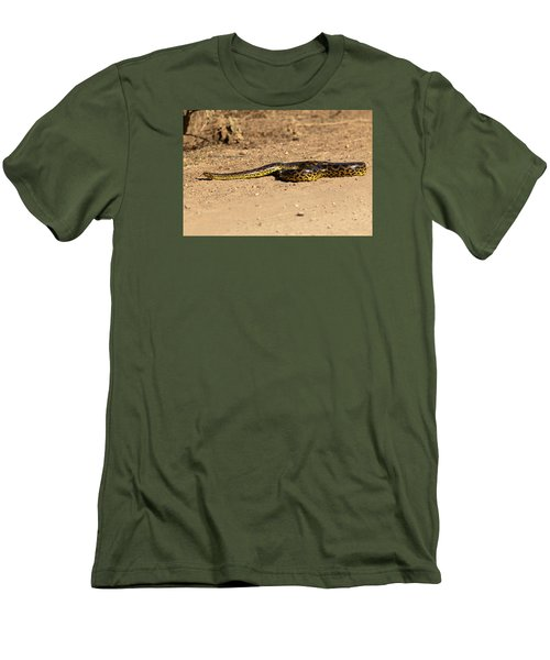 Anaconda Crossing Transpantaneira Men's T-Shirt (Athletic Fit)