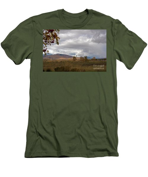 Anaconda Smelter Stack Men's T-Shirt (Slim Fit) by Cindy Murphy - NightVisions