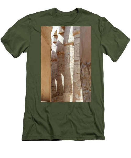 Men's T-Shirt (Athletic Fit) featuring the photograph Ancient Egypt by Silvia Bruno