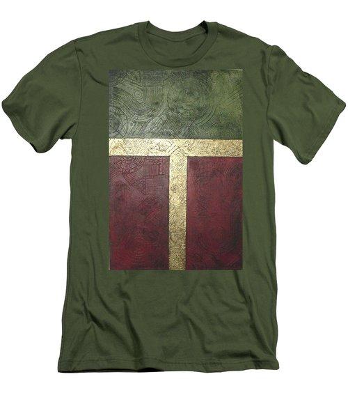 Ancient Hieroglyphics Men's T-Shirt (Slim Fit) by Bernard Goodman