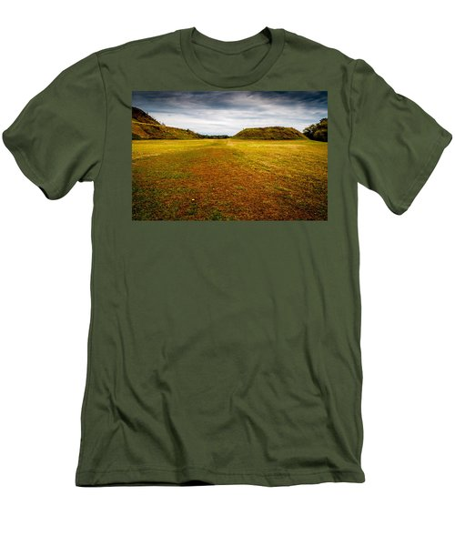 Ancient Indian Burial Ground  Men's T-Shirt (Athletic Fit)