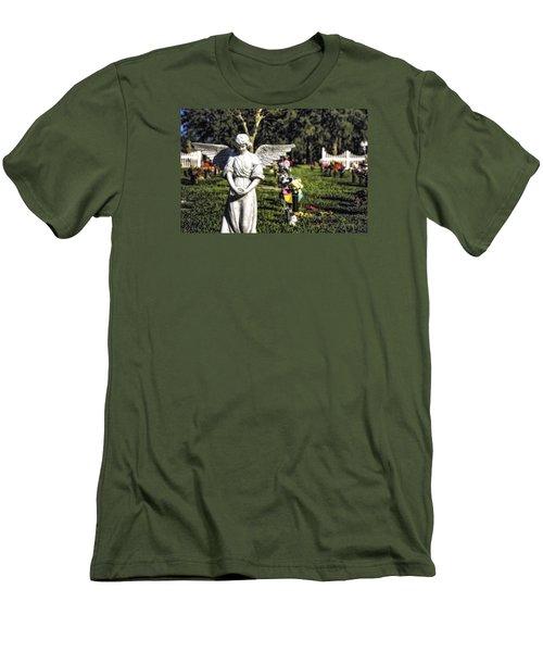 Angel 004 Men's T-Shirt (Slim Fit) by Michael White