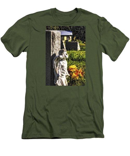 Angel 010 Men's T-Shirt (Slim Fit) by Michael White