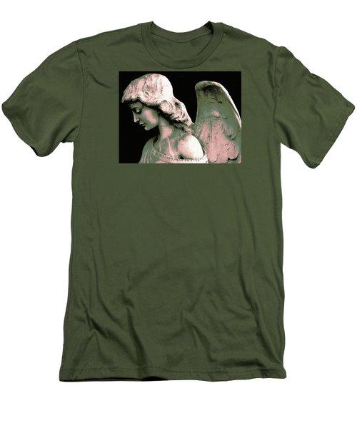 Angel 4 Men's T-Shirt (Slim Fit) by Maria Huntley