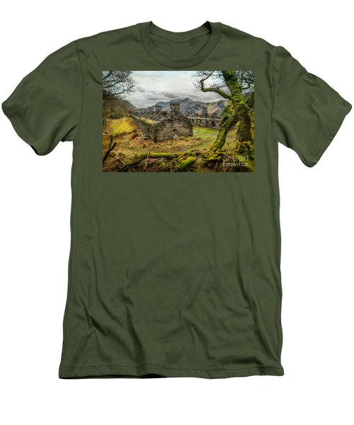 Anglesey Barracks Men's T-Shirt (Slim Fit) by Adrian Evans