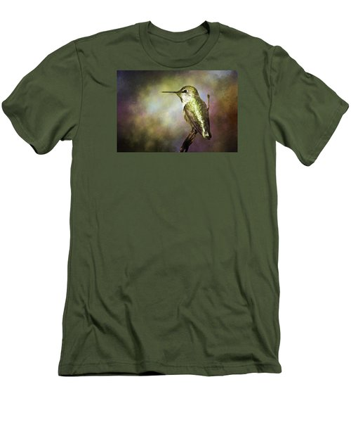 Anna's Hummingbird 2 Men's T-Shirt (Athletic Fit)