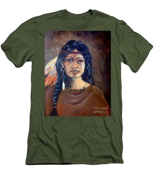 Anne Wolfe Men's T-Shirt (Athletic Fit)