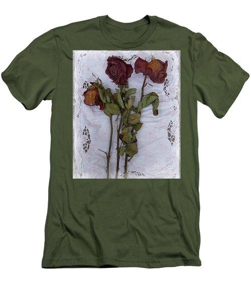 Anniversary Roses Men's T-Shirt (Athletic Fit)