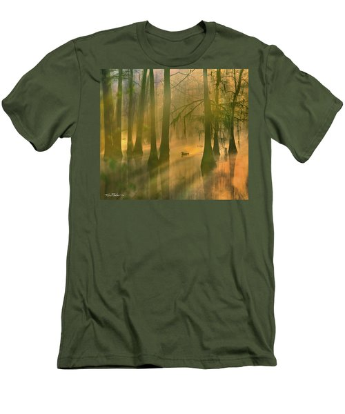 Another Day Men's T-Shirt (Slim Fit) by Tim Fitzharris