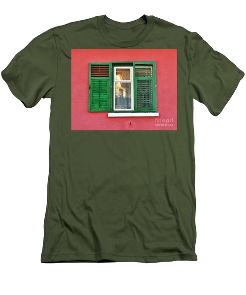 Another Green Shutter Men's T-Shirt (Athletic Fit)