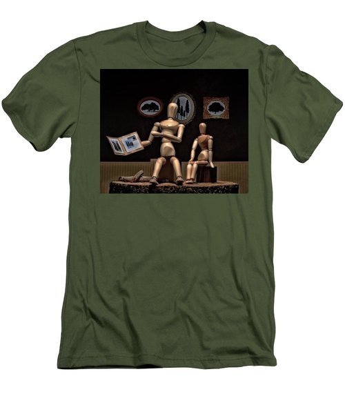 Another Recounting Of The Woody Family History Men's T-Shirt (Slim Fit) by Mark Fuller