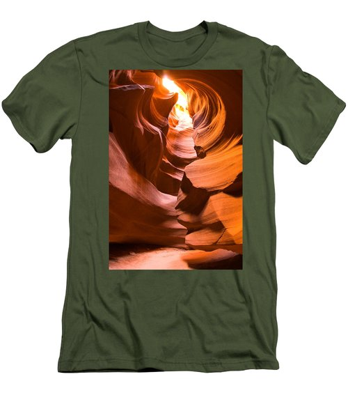 Antelope Canyon Men's T-Shirt (Slim Fit) by Harry Spitz