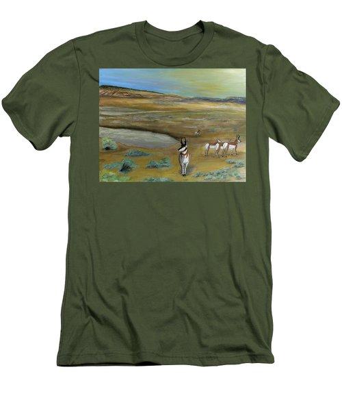 Antelopes Men's T-Shirt (Athletic Fit)
