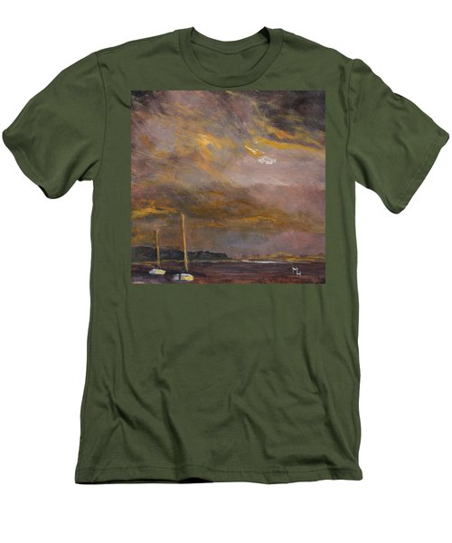 Anticipation Men's T-Shirt (Slim Fit) by Michael Helfen