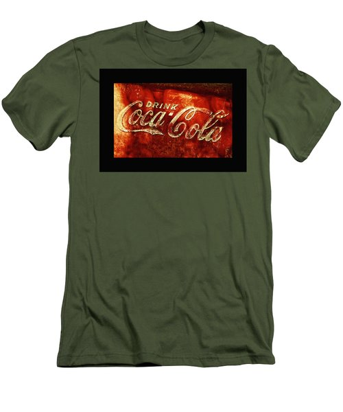 Antique Coca-cola Cooler II Men's T-Shirt (Athletic Fit)