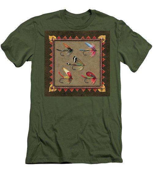 Antique Fly Panel Men's T-Shirt (Athletic Fit)