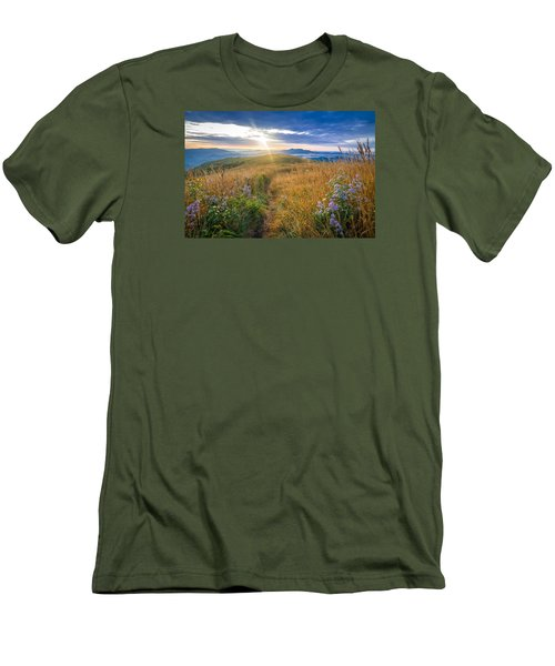 Appalachian Sunrise Men's T-Shirt (Slim Fit) by Serge Skiba