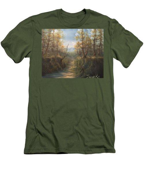 Appalachian View  Men's T-Shirt (Athletic Fit)