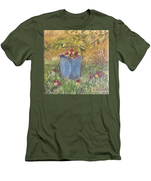 Apple Pickin'  Men's T-Shirt (Athletic Fit)