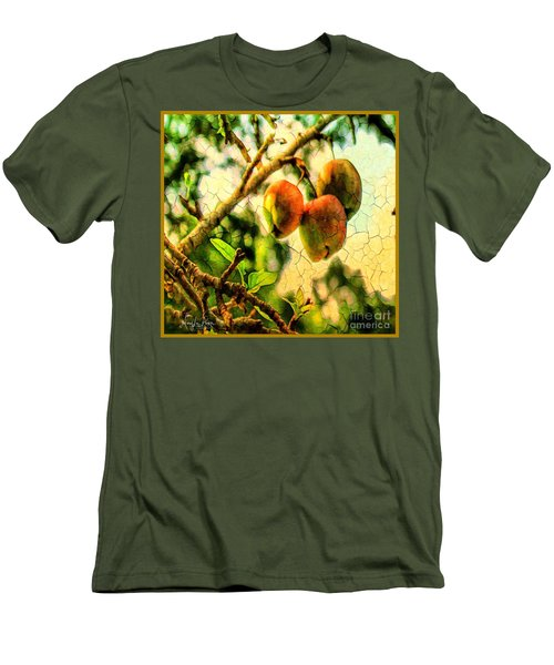 Apple  Season Men's T-Shirt (Athletic Fit)