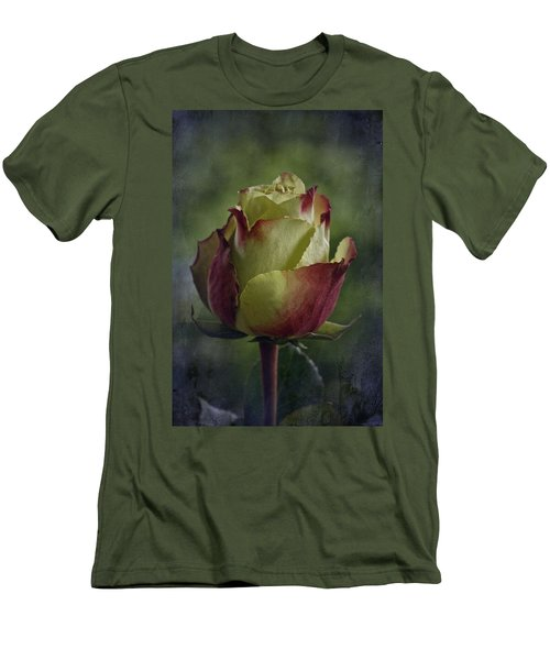 April 2017 Rose - Inspired By Emerson Men's T-Shirt (Slim Fit) by Richard Cummings