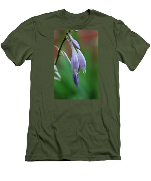 Men's T-Shirt (Slim Fit) featuring the photograph April Ends by Michiale Schneider