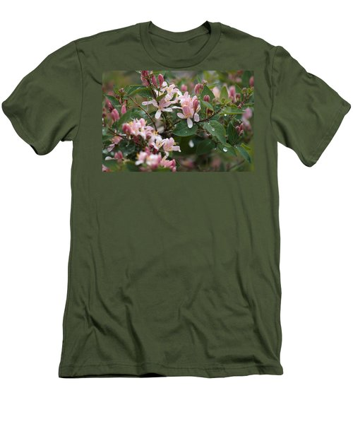 Men's T-Shirt (Athletic Fit) featuring the photograph April Showers 8 by Antonio Romero