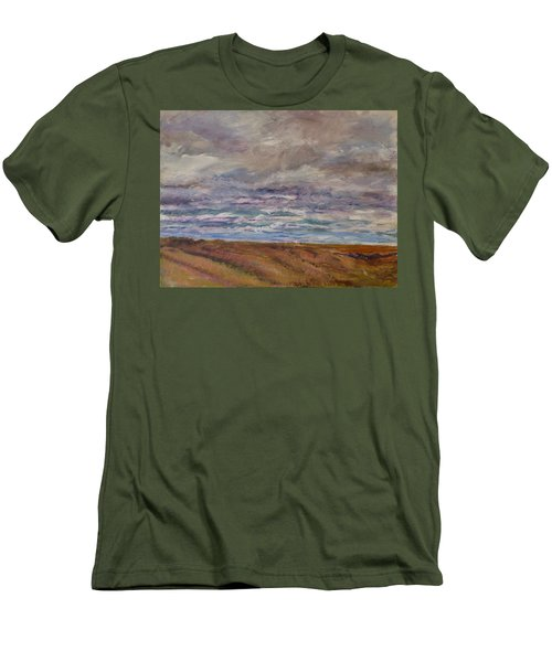 April Wind Men's T-Shirt (Slim Fit) by Helen Campbell