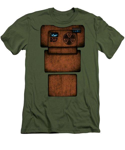Apunkalypse Armor Seven Men's T-Shirt (Athletic Fit)
