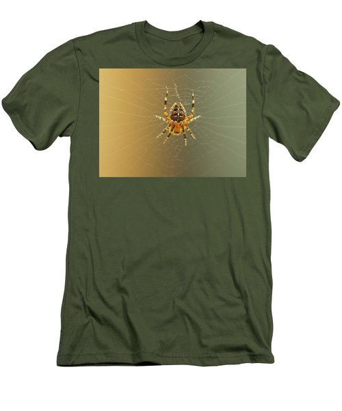 Araneus Diadematus Men's T-Shirt (Athletic Fit)